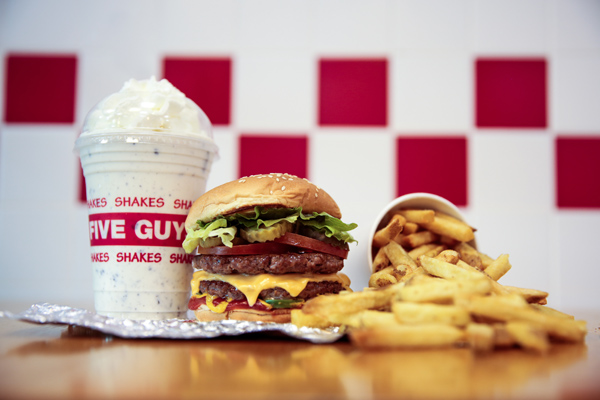 Five Guys Launches New Recipe for Reporting