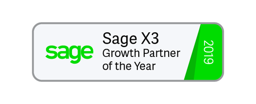 Sage X3 Growth Partner of the Year 2019