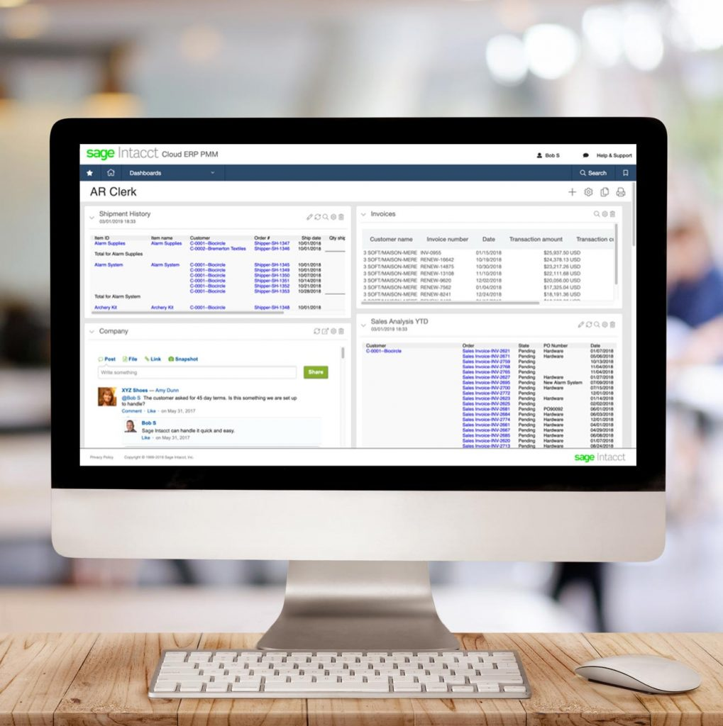 Sage Intacct Accounts Receivable Complete Visibility