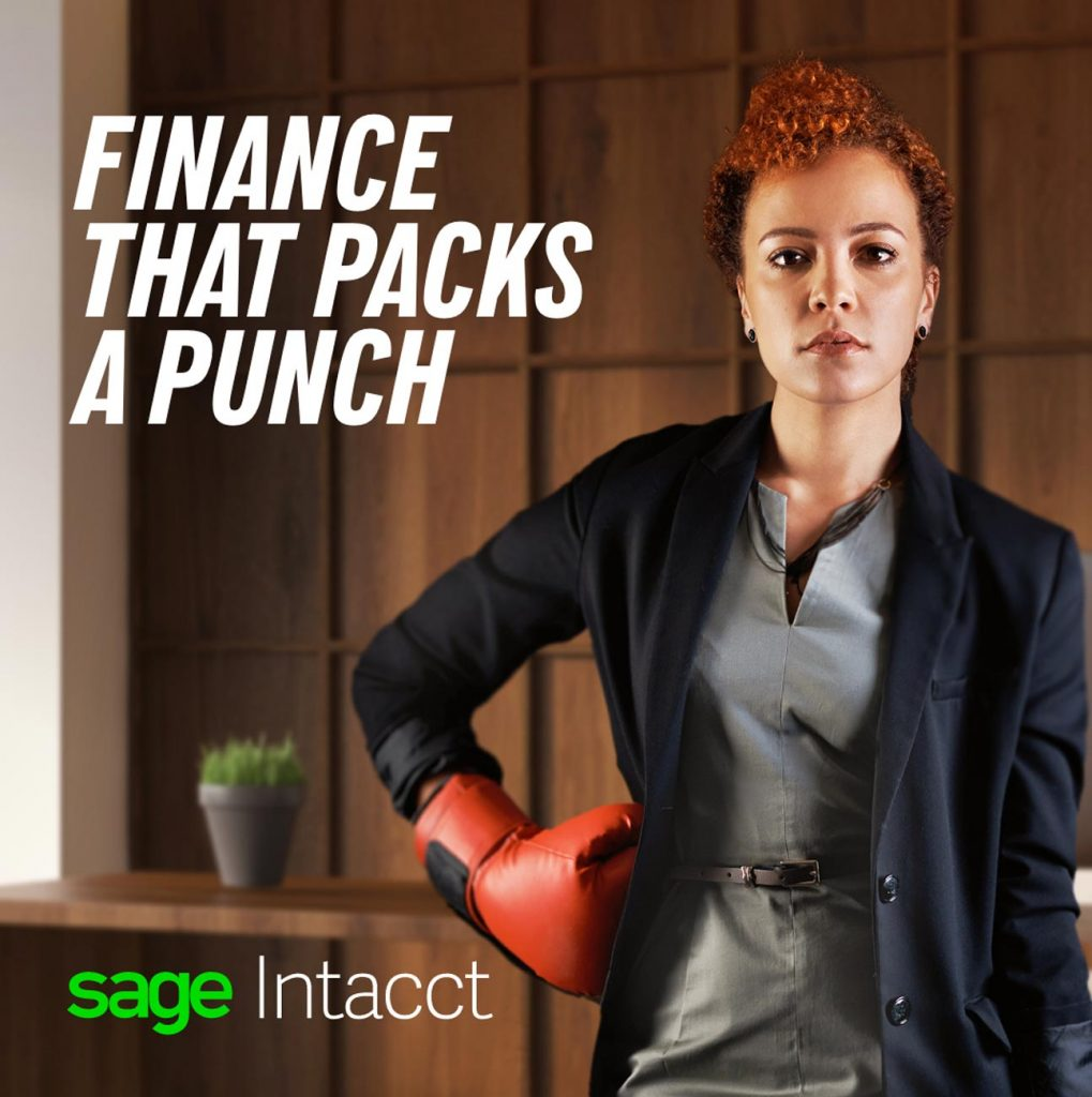 Sage Intacct Finance that Packs a Punch