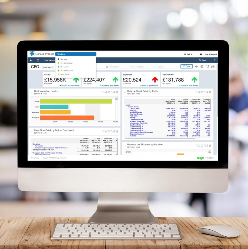 Sage Intacct General Ledger Consolidations Made Easy